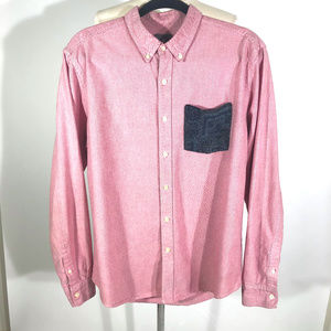 URBAN OUTFITTERS Hawkings McGill Button Down Large
